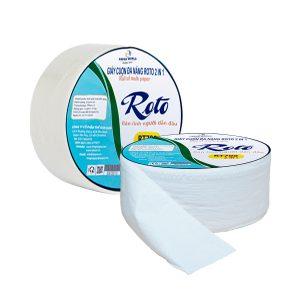 Giấy vệ sinh cuộn lớn Roto700 2in1 chất lượng vượt trội