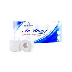 Cung cấp giấy vệ sinh cuộn nhỏ An Khang Soft10 - Paper.vn