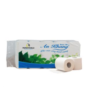 Giấy vệ sinh cuộn nhỏ An Khang Inno 10 - AKI10