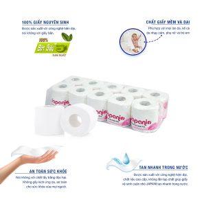 Đặc điểm của giấy vệ sinh cuộn nhỏ japani one - paper.vn