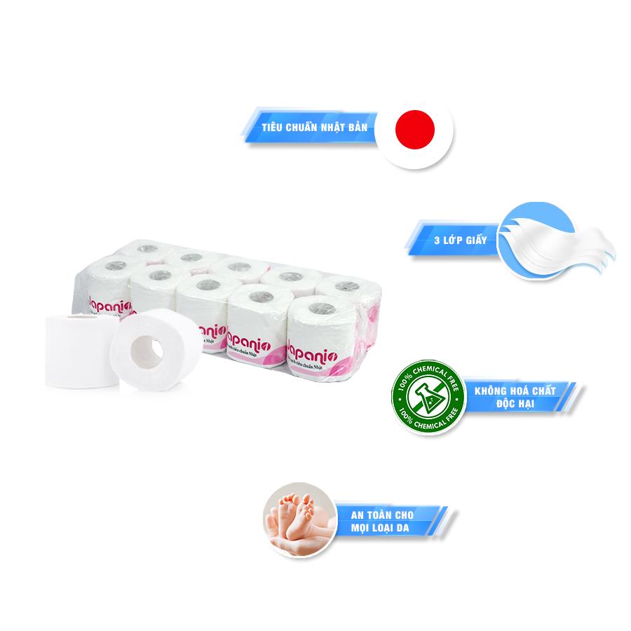 Mua giấy vệ sinh cuộn nhỏ japani one - paper.vn