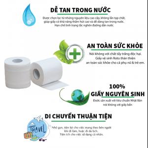 Ưu điểm của giấy vệ sinh cuộn nhỏ roto soft10- rts10 - paper.vn