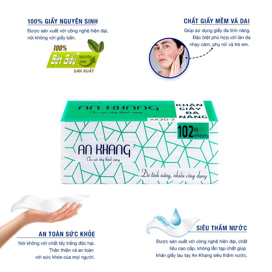 Đặc điểm của khăn giấy lau tay an khang 20-2-paper.vn