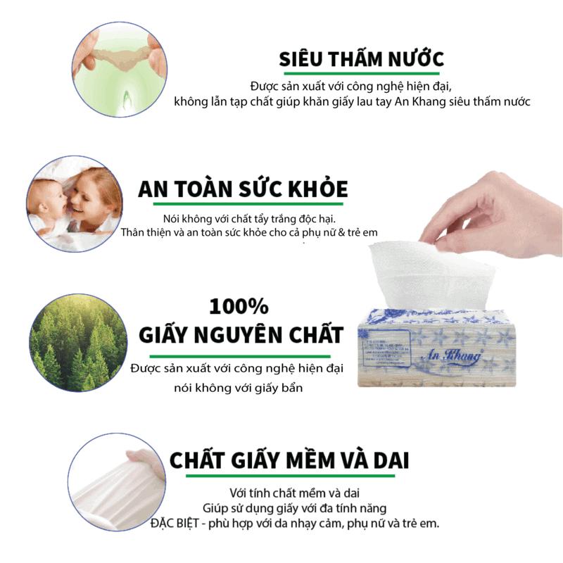 Ưu điểm của khăn giấy lau tay An Khang 24-1-Paper.vn