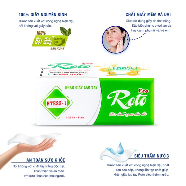 Cung cấp giấy lau tay roto eco22-1-paper.vn