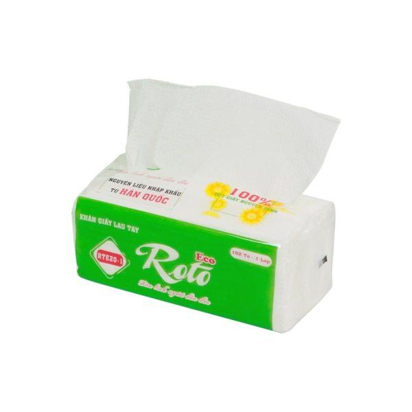 Cung cấp khăn giấy lau tay roto eco 20-2-Paper.vn