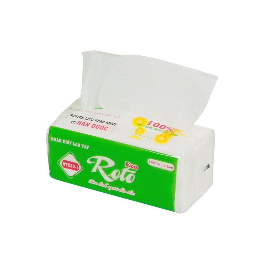 Cung cấp khăn giấy lau tay roto eco 20-1-Paper.vn