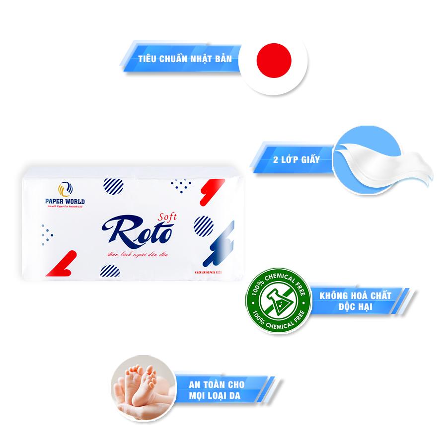 Khăn giấy Napkin Roto RTS400