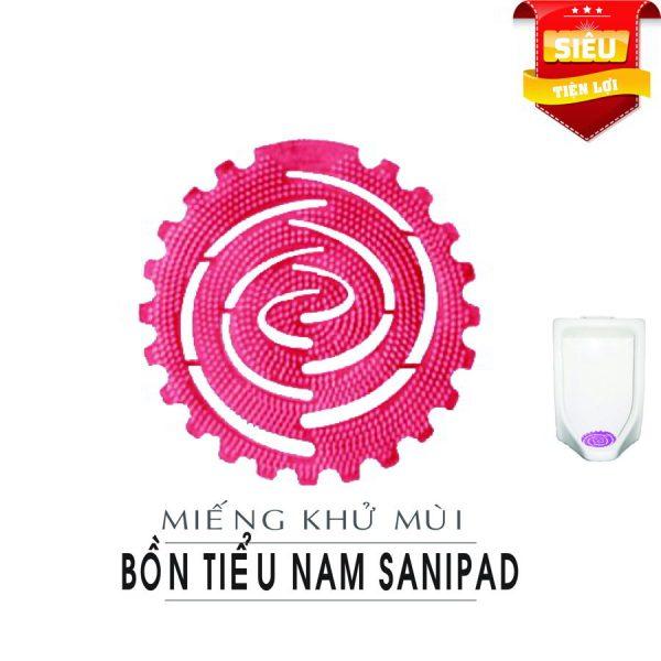 Miếng khử mùi nam sanipad-paper.vn