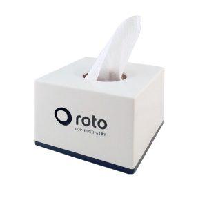Hộp đựng giấy lau tay để bàn RT809W