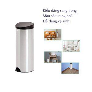 Ưu điểm của thùng rác inox rdtl9019-paper.vn