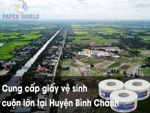 Cung cấp giấy vệ sinh cuộn lớn tại Huyện Bình Chánh