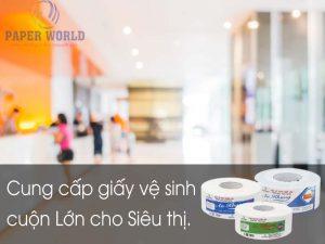 Thế Giới Giấy cung cấp giấy vệ sinh cuộn lớn tại các Khách sạn