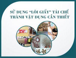 Mẹo vặt với lõi giấy vệ sinh -paper.vn