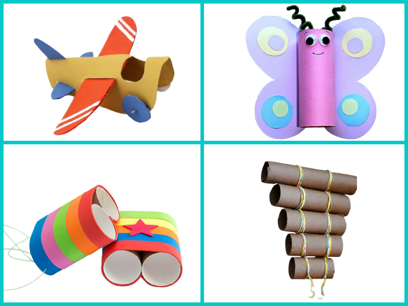 8 cách tái chế với những ống lõi giấy vệ sinh bỏ đi