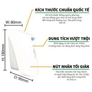 Đặc điểm hộp đựng xà bông 2in1 -roto819- paper.vn