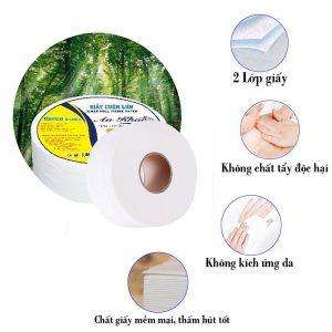 Đặc điểm của giấy vệ sinh cuộn lớn An Khang Max330