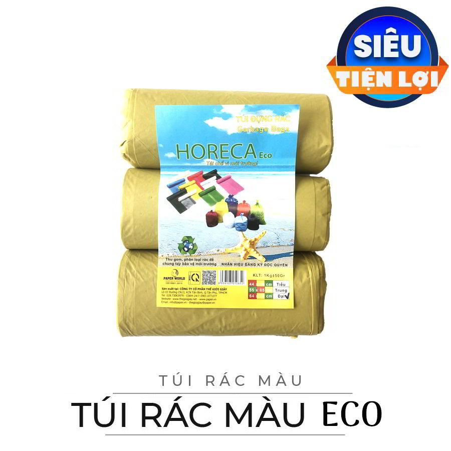 Mua túi rác màu eco uy tín chất lượng tại paper.vn