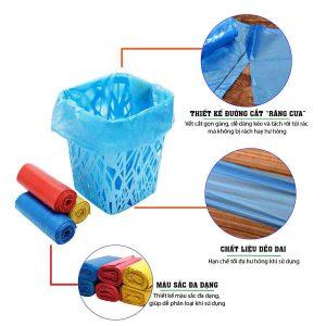 Đặc tính của túi rác tiểu màu eco - paper.vn