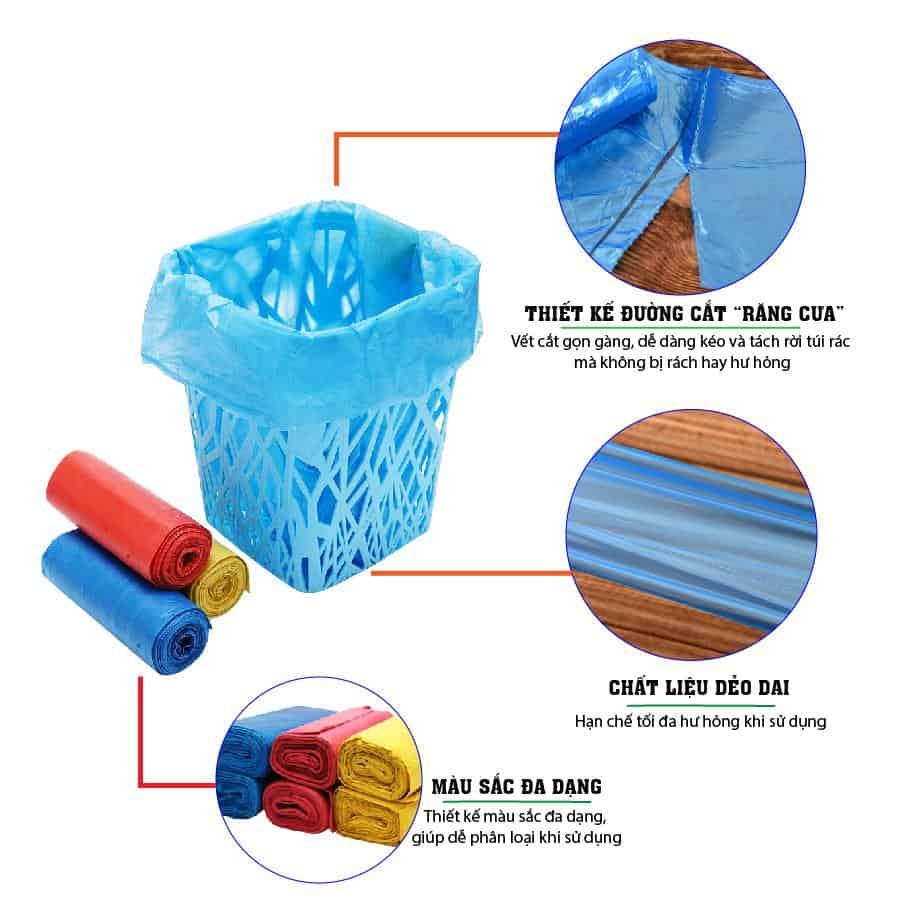 Đặc điểm của túi rác màu saving - paper.vn