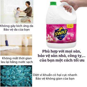 Ưu điểm của nước lau sàn can 4 lit -paper.vn