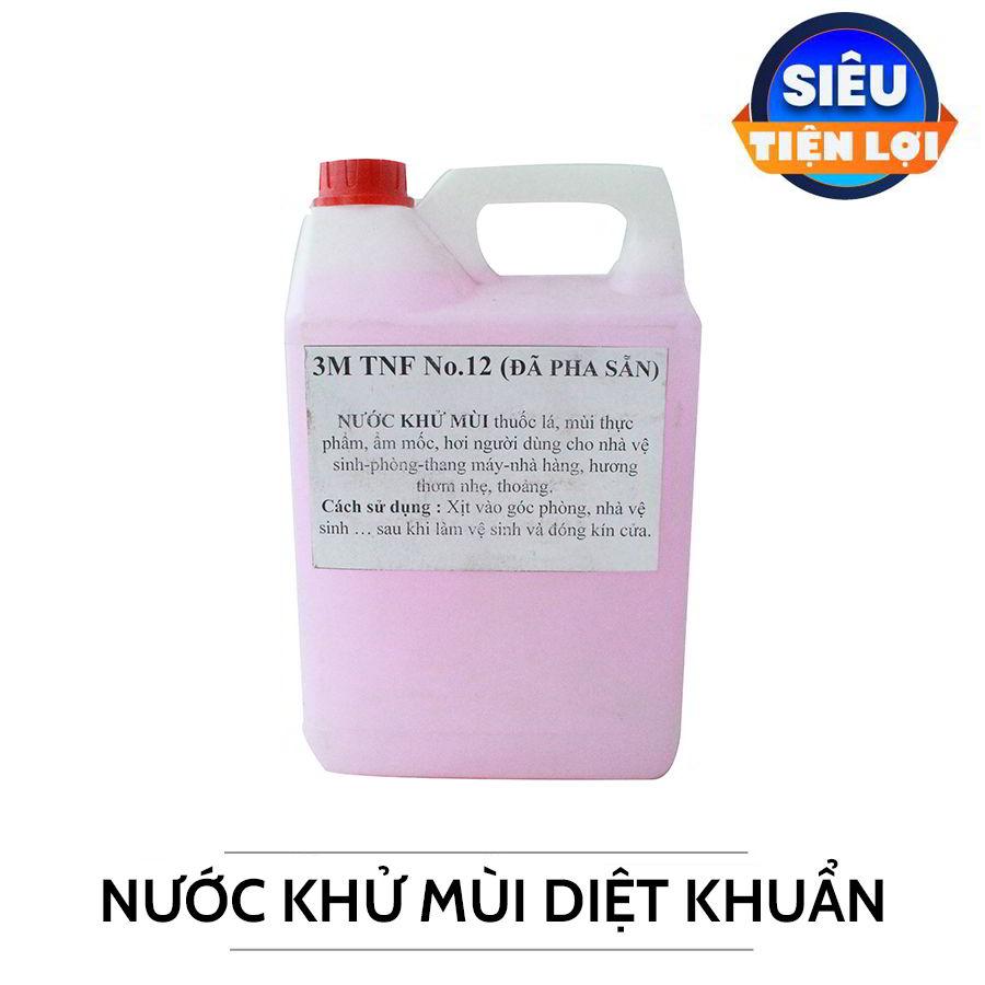 Cung cấp nước khử mùi diệt khuẩn can 5 lit -paper.vn