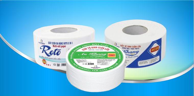 Cung cấp các loại giấy vệ sinh cuộn lớn tại Thế Giới Giấy