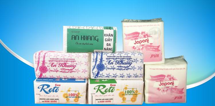 Cung cấp các loại khăn giấy lau tay tại Thế Giới Giấy