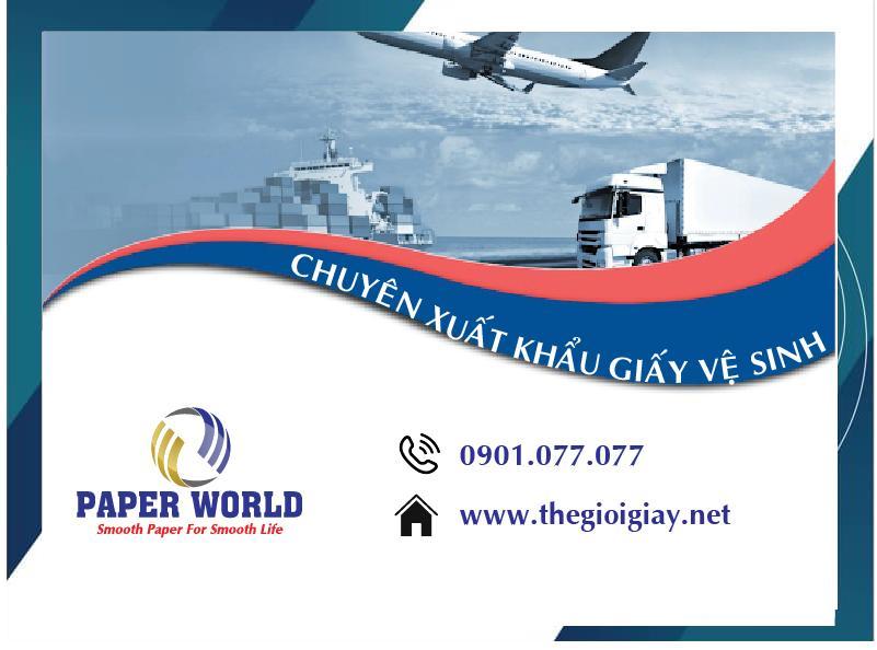 Chuyên gia xuất khẩu giấy vệ sinh sang châu Âu