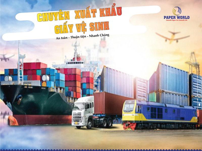 Công Ty xuất khẩu giấy vệ sinh hàng đầu Việt Nam