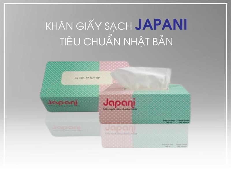 Giấy sạch Japani tiêu chuẩn quốc tế.
