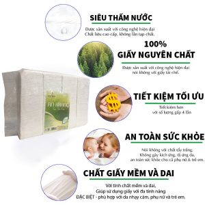 Mua khăn Ăn An Khang Soft1500 siêu tiết kiệm