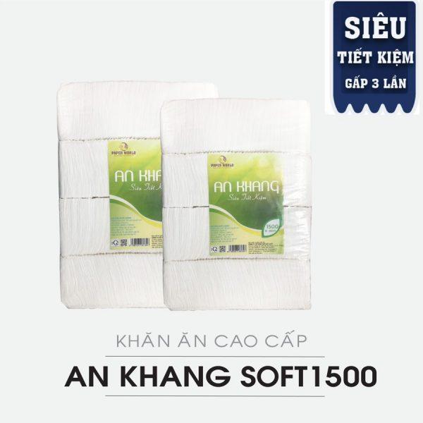 Cung cấp khăn ăn An Khang Soft1500